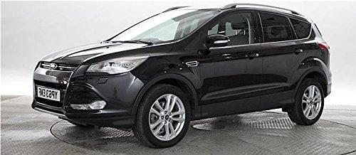 Ford Kuga 2013 - 2016 Cubierta del espejo retrovisor metálico negro - izquierda pasajero: Amazon.es: Coche y moto