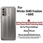 Fashionury Motorola G40 Fusion/Motorola G60 Printed Rugged Armor Designer Pouch Mobile Back Cover -HB031