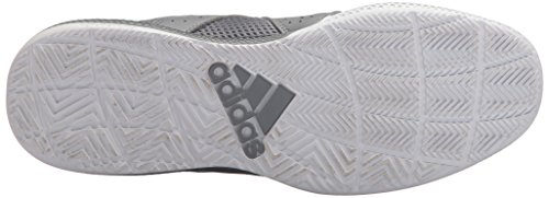 Adidas Originali Da Uomo Dt Bball Mid Da Basket Grigio / Bianco / Grigio Scuro