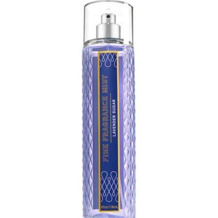 Bath and Body Works Lavender Sugar Fine Fragrance Mist Spray 8 Ounce