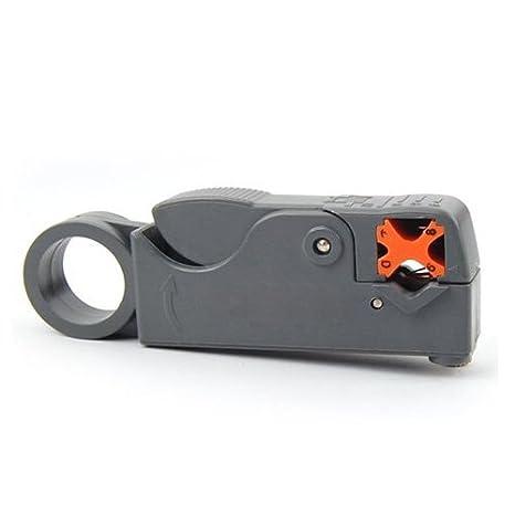 Alicate Giratorio Coaxial Cortar Quitar Cable RG6 RG59