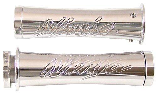 Yana Shiki CA3055 Triple Chromed Curved Grips with Flat Ends for Kawasaki Ninja