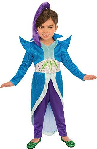 - Rubie's Costume Shimmer and Shine Child's Zeta The Sorceress Costume, Multicolor, Small
