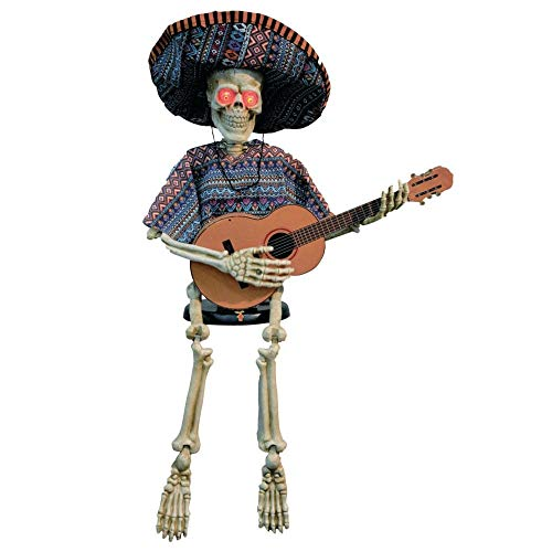 Costumes for all Occasions VA113 Skeleton Playing Guitar