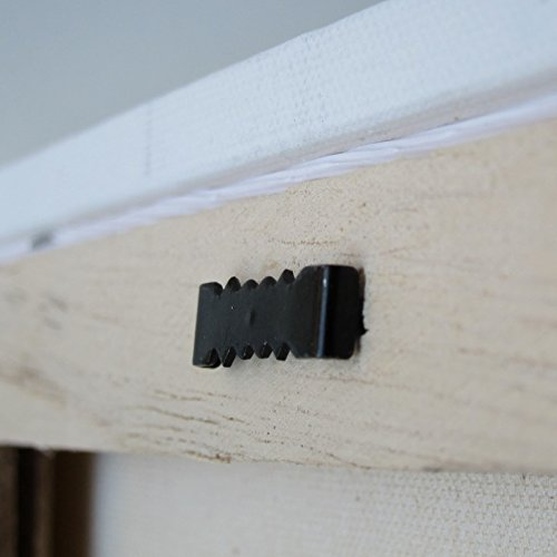 1000 Sawtooth Picture Hangers No Nail - 1 Inch - Black by Picture Hang Solutions (Image #3)