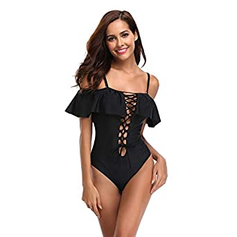 85161 Traje de baño de una pieza Bikini Mujer Traje de baño ...