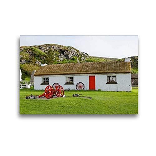 Premium Textil de lienzo 45cm x 30cm libre Horizontal Luz Museum, Glen colu mbkille, 45x30 cm por Siegfried Kuttig
