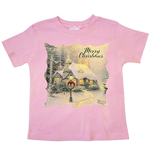 inktastic - Stonehearth Hutch Toddler T-Shirt 5/6 Pink - Thomas Kinkade 33582