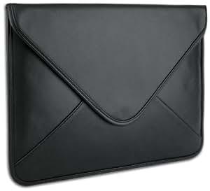 Luxurious Black Soft Synthetic Leather Envelope Sleeve Carrying Case for Apple Ipad 1 Ipad 2 Ipad 3 Ipad Air / Kindle Fire Hd / Samsung Galaxy Tab 10.1