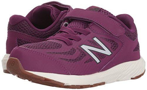 New Balance Girls' 519v1 Hook and Loop Running Shoe, Imperial/Phantom, 2 M US Infant by New Balance (Image #5)
