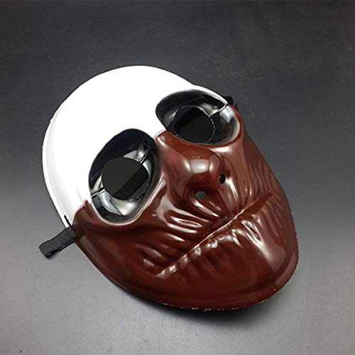 (PVC Scary Clown Mask Payday 2 Halloween Mask For Antifaz Party)