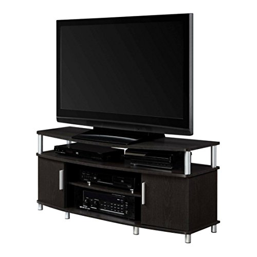 Adjustable Shelves Contemporary Style 50'' Espresso TV Stand by Ameriw00d Home