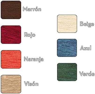 Falda de Mesa Camilla Rectangular Modelo SANTA FE, Color Marrón ...