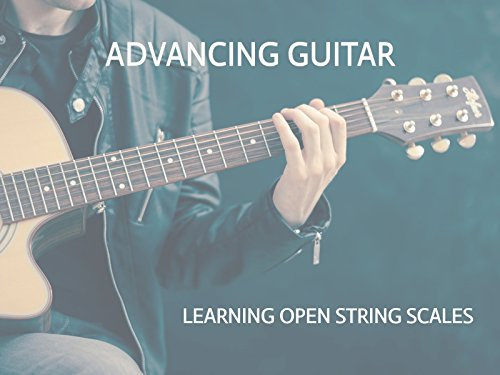 Learning Open String Major Scales For Guitar In Five Keys