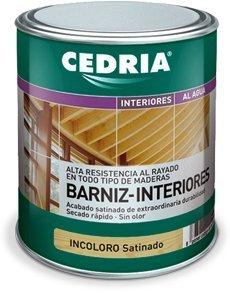 Barniz Interior Madera Cedria Barniz Interiores 750 ml (Incoloro)