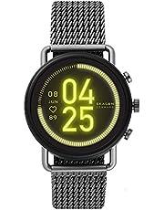 ساعة فالستر الذكية الرقمية للرجال بمينا متعدد الالوان وسوار من الستانلس ستيل من سكاجين - SKT5200
