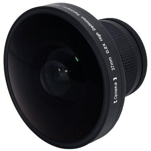"""Opteka Platinum Series 0.2X HD Panoramic """"Vortex"""" 220Deg Fis"""