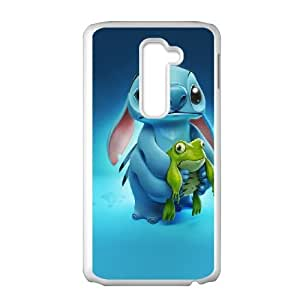 LG G2 cell phone cases White Lilo and Stitch Qutoes fashion phone cases TGH879059
