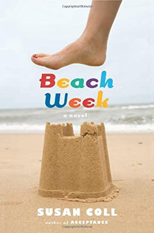 book cover of Beach Week