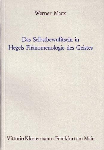 Das Selbstbewusstsein in Hegels Phänomenologie des Geistes