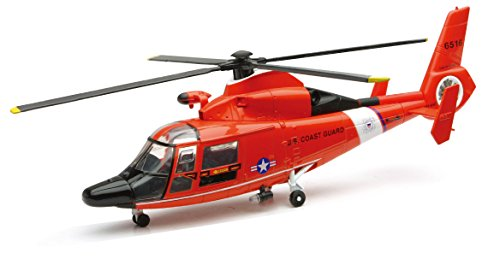 Diecast Model Us Coast Guard - NEW-RAY 25903 US Coast Guard Dauphin - HH-65C Helicopter