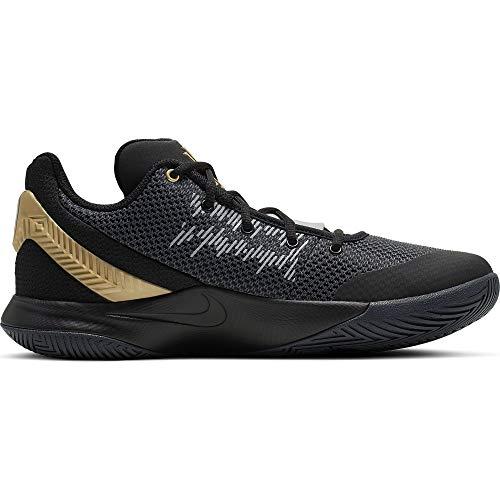 low priced 776da ff134 Nike Men s Kyrie Flytrap II Basketball Shoe Black Metallic Gold Anthracite  Size 8.5 M US