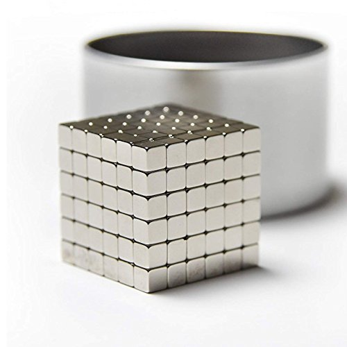 SANFENG Magnetic Cube 5mm, 216 PCS Magnets Sculpture Building Blocks Toys for Intelligence Development and Stress Relief by SANFENG
