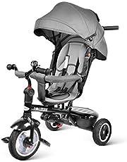 besrey 7 en 1 Triciclo con Pedales para bebés con Asiento Giratorio