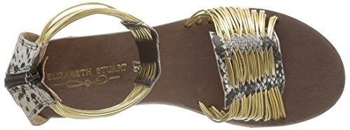 Elizabeth Stuart Dame Pexy 871 Sandalen Guld - Eller (naturel / Eller) KUwfcCuqC