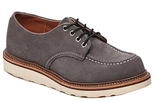 Red Wing Shoes Oxford Leather Shoes (11.5 D US, Dark Charcoal) by Red Wing Shoes