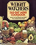 365-Day Menu Cookbook, Weight Watchers International, Inc. Staff and Jean Nidetch, 0453010091