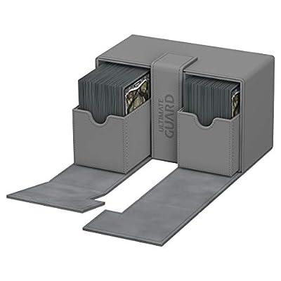 Ultimate Guard Twin Flip'n'Tray 160+ XenoSkin Grey: Toys & Games