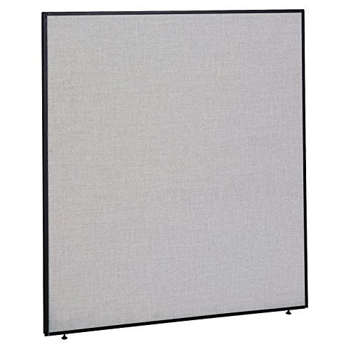Bush Business Furniture ProPanels - 66H x 60W Panel in Light Gray/Slate
