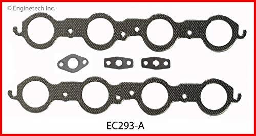 Enginetech EC293-A GSKT GM CHEV HUM 4.8L 5.3L 6.0L EXH Manifold Set