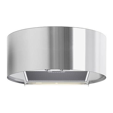 Ikea udden cappa aspirante per montaggio a parete, in acciaio inox ...