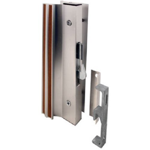 Slide-Co 14206 Sliding Glass Door Handle Lock Hook Style Surface Mount Aluminum