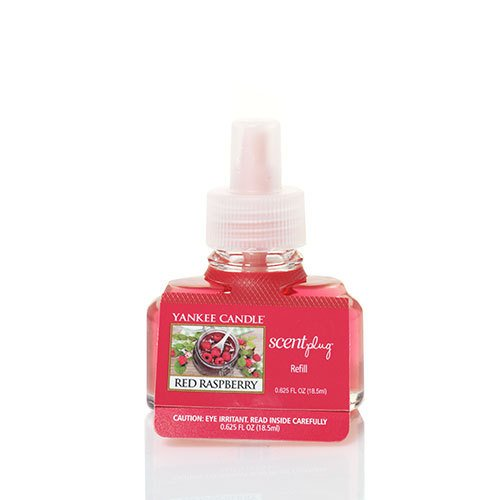 Yankee Candle Red Raspberry Scent-Plug Air Freshener Refill, Fruit (Currant Candle Scent)