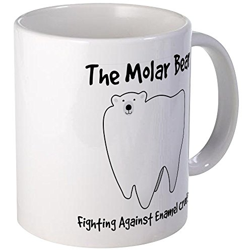 CafePress - The Molar Bear. Fighting Against Enamel Cruelty