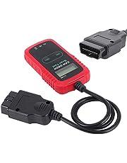 Haowecib Ferramenta de diagnóstico de carro, scanner de carro com visor LCD, conveniente para ferramenta de diagnóstico do veículo, detector de problemas no carro