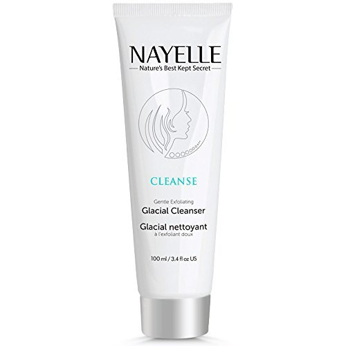 NAYELLE 100% Natural Facial Cleanser with Oceanic Clay & Gentle Exfoliating Bamboo. Anti Aging & Anti Acne Face Wash for All Skin Types Sensitive, Oily or Dry Skin. Facial Cleanser for Women & Men.