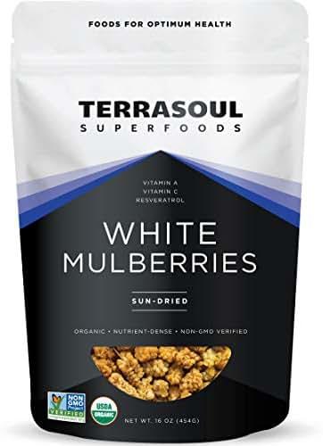 Terrasoul White Mulberries