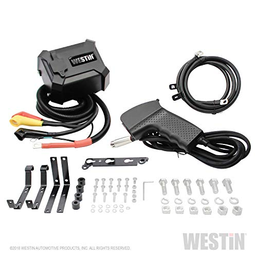 Westin Automotive Products 47-2106 Black Off- Off-Road 12.5 Waterproof Winch