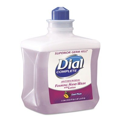 1l Refill Bottle - Dial Prof Complete Foaming Hand Wash Refill, Cool Plum Scent, 1L Bottle
