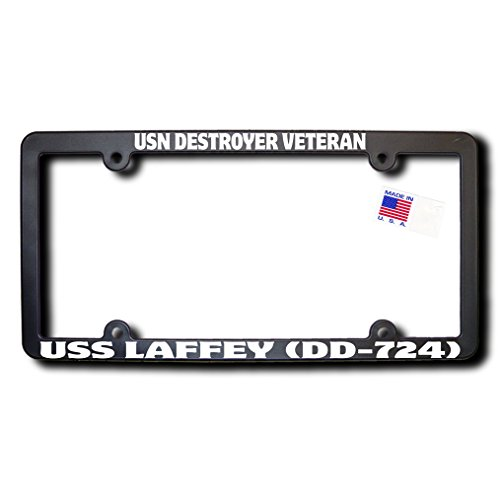 USN Destroyer Veteran USS LAFFEY (DD-724) License Frame