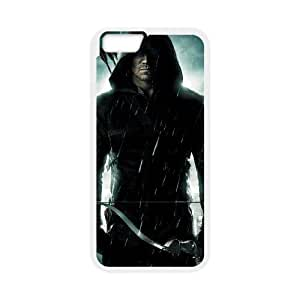 Personality customization TPU Case with Arrow iPhone 6 4.7 Inch Cell Phone Case White