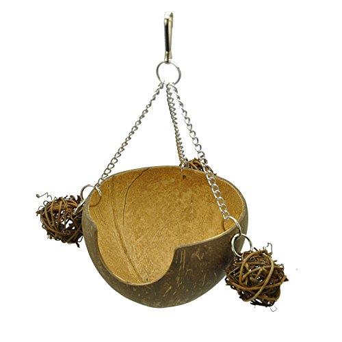 Niteangel Coconut Shell Hamster Hammock, Swing Toy