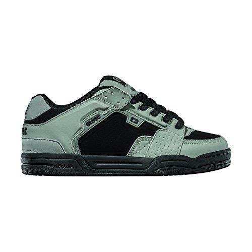 Globe Scribe del hombres Skate zapatos Gris/negro/blanco (gamma)