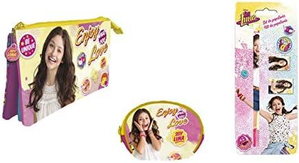 9951, Pack Disney Soy Luna, Compuesto por Monedero Soy Luna; portatodo Triple Soy Luna; y Set utiles Escolares Soy Luna: Amazon.es: Equipaje