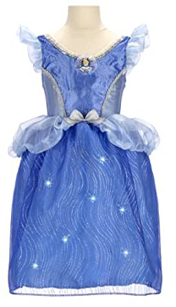 Disney Princess Cinderella Feature Light-Up Dress (4-6x)