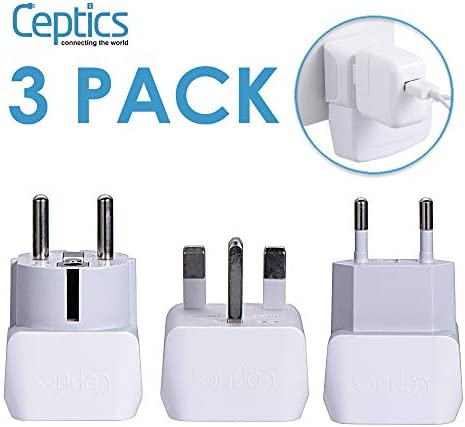 Complete European Travel Adapter Ceptics product image